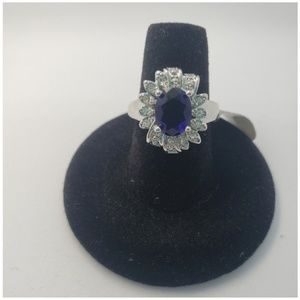 Jewelry - Sapphire Cocktail Ring